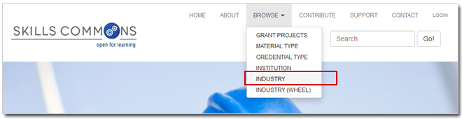 Browse by Industry graphic
