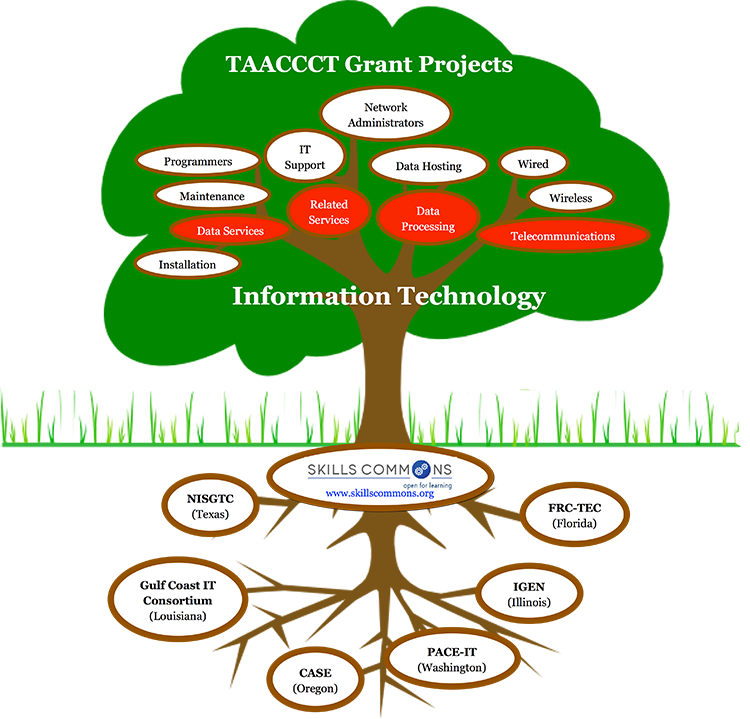Select Grant Projects in Information Technology