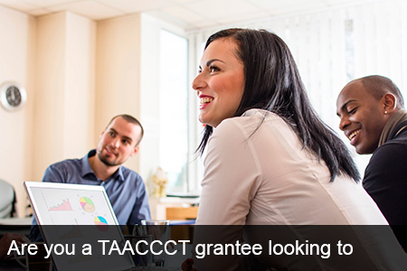 Are you a TAACCCT grantee looking to connect with Tech Companies?