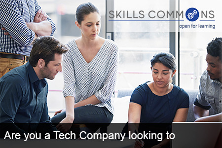 Are you a Tech Company looking to partner with SkillsCommons?