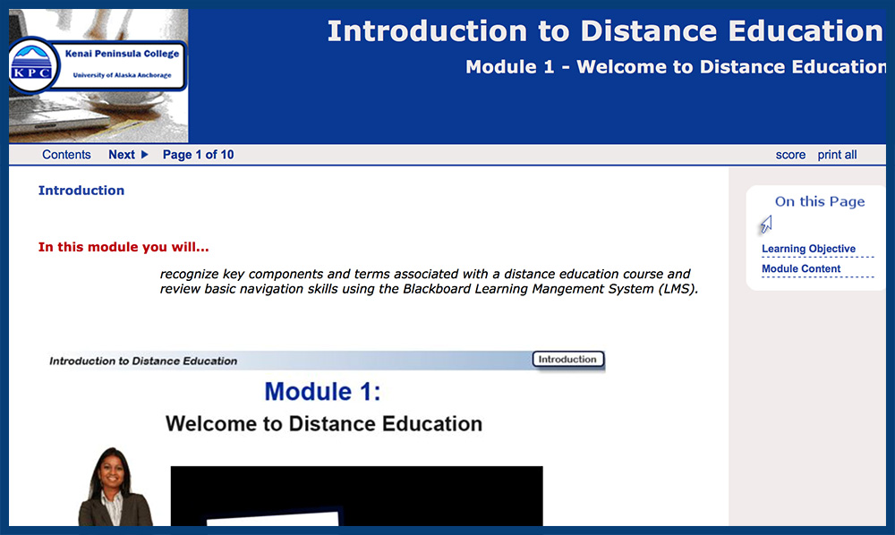 introduction to distance education skillscommons