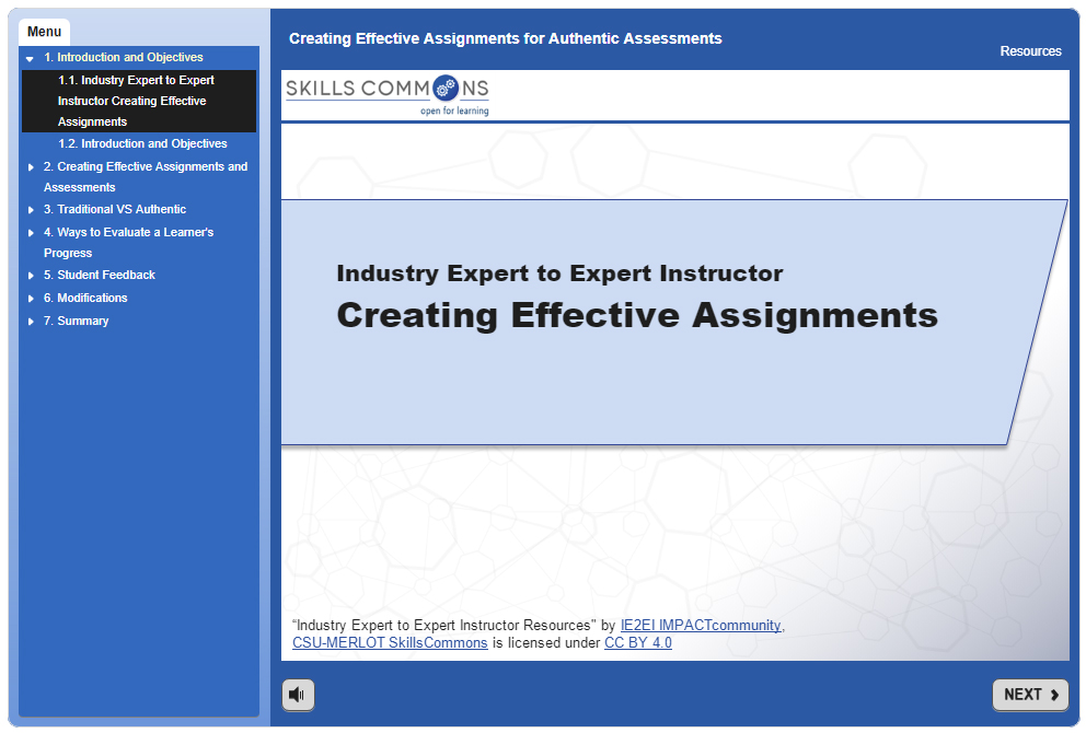 Creating Effective Assignments