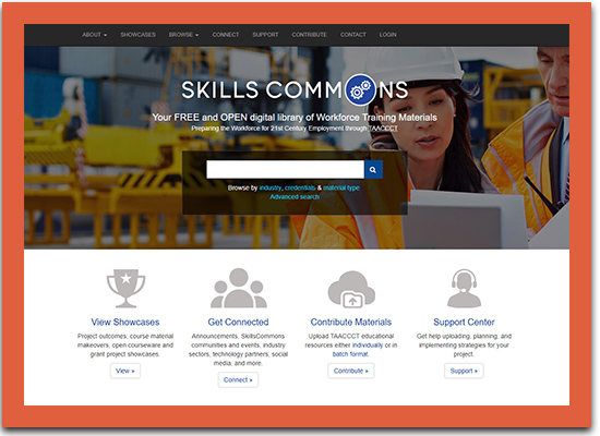 SkillsCommons Library