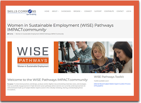 Women in Sustainable Employment Pathways