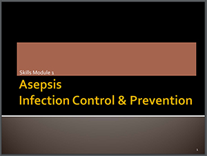 Asepsis Infection Control