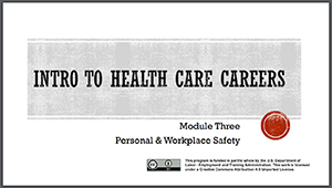 Intro to Healthcare Careers