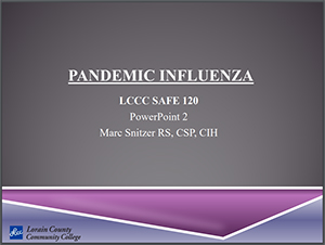 Pandemic Influenza PowerPoint