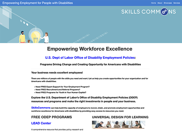 """Thumb nail image of linked webpage titled """"Empowering Workforce Excellence"""""""